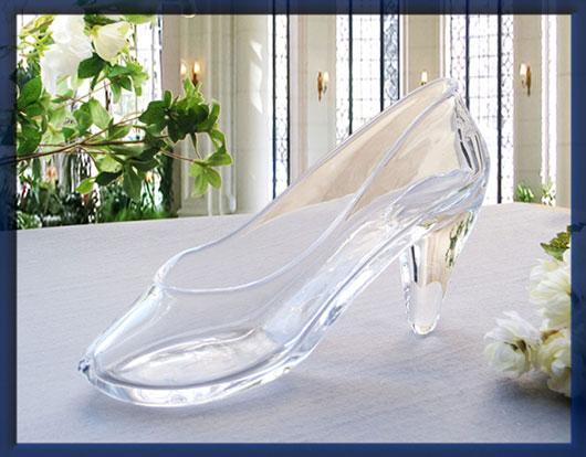 「ガラスの靴」ユッキーナとフジモンがプロポーズで使用
